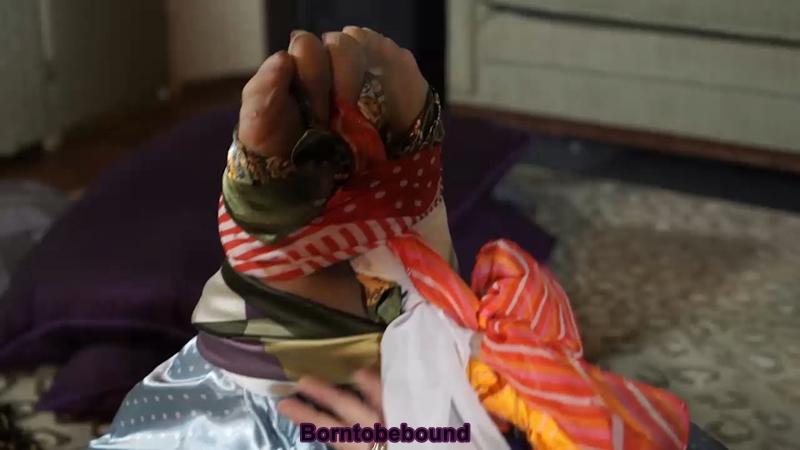 scarf bondage video clips